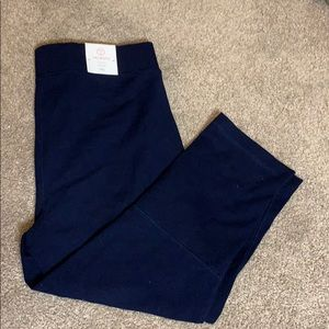 Talbots cropped yoga pants